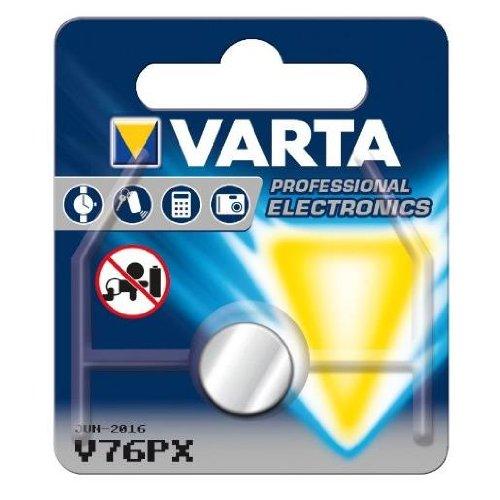 Varta 10x Knopfzelle V13GA/LR44/PX76A/A76/KA76/LR44P/G13