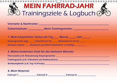 Mein Fahrrad-Jahr: Trainingsziele & Logbuch - Power Year Edition (Wandkalender 2019 DIN A3 quer): Der Trainingshilfe-Kalender für alle sportlichen ... (Monatskalender, 14 Seiten ) (CALVENDO Sport)
