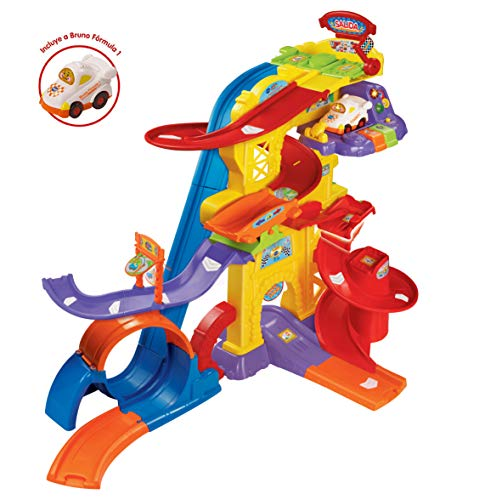 VTech- Superpista Looping Pista para los Coches tut, 63.2 x 40.6 x 21.1 (3480-156922)