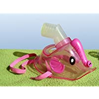 Admed Universal Maske für Kinder zu Inhaliergerät Inhalator Inhalation Aerosol Vernebler (Rosa) - preisvergleich