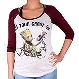 Tshirt Femme Gardiens de la Galaxie 2 - Get Your Groot on