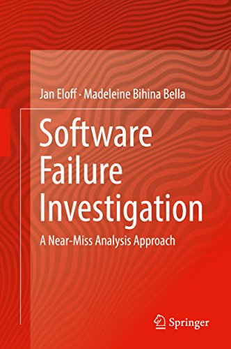 Software Failure Investigation: A Near-Miss Analysis Approach
