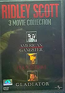 Ridley Scott - 3 Movie Collection - DVD - American Gangster / Hannibal / Gladiator