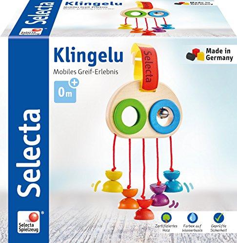 Selecta 61046 Klingelu, Minitrapez und Babayspielzeug, 15,5 cm