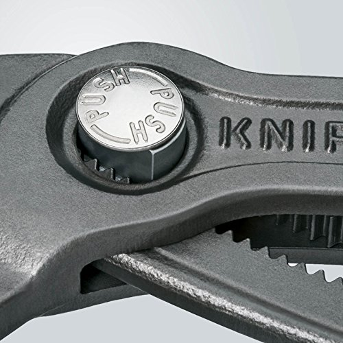 Knipex 87 01 400 Cobra – XL-Wasserpumpenzange, für Rohre bis 90 mm Ø, 400 mm