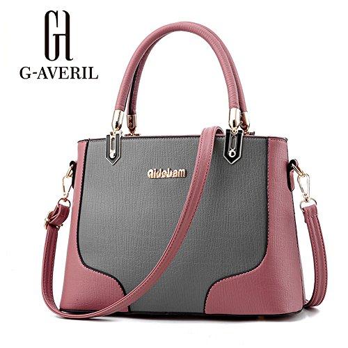 (G-AVERIL)nuovo pacchetto onda signore borsa Messenger Bag donne per le donne borsa rosa1