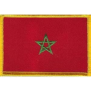 Patch à coudre ou thermocoller :  maroc-grand modèle