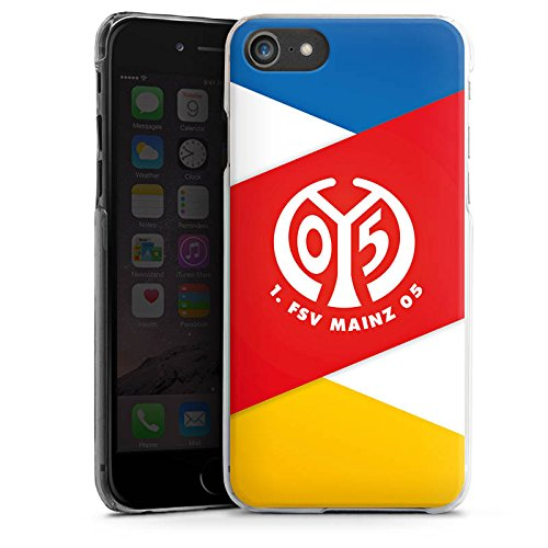 Apple iPhone SE Silikon Hülle Case Schutzhülle 1. FSV Mainz 05 e.V. Bundesliga Fanartikel Hard Case transparent