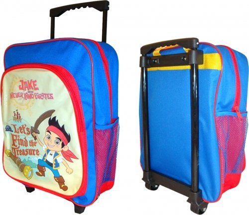 Jake und die Nimmerland Piraten lässt finden die Schätze Rädern Tasche (Taschen Jake Kids)