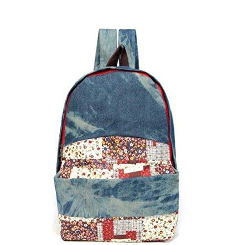 Collège Vent Mme sac à bandoulière/Mode sac à dos occasionnel/version coréenne du sac de toile-C B