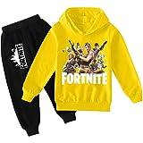 zhaojiexiaodian Chicos Unisex Impresión 3D Pullover Niño Jogging Sudaderas Sudaderas Chándal Ropa Deportiva Jumper Hip Hop St