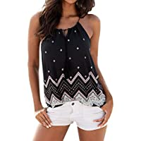 Damark(TM) Ropa Camiseta sin Mangas Tank Tops para Mujeres,Verano Suelto Sexy Deporte Casual Lace Chaleco Blusa.