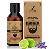 #9: Spruce Shave Club Beard Wash - Enriched with Essentials Oils & Aloe Vera - 100ml (Bergamot & Lavender)