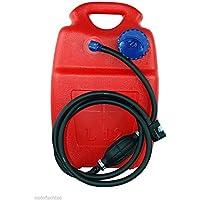 Kraftstofftank 12 Liter Set mit Pumpschlauch und Kraftstoffanschluss für Suzuki