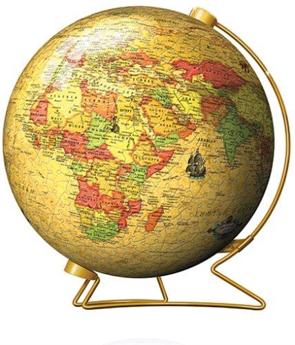Ravensburger - Puzzleball 960 Teile - Erde politisch aktuell, im Renaissance-Stil