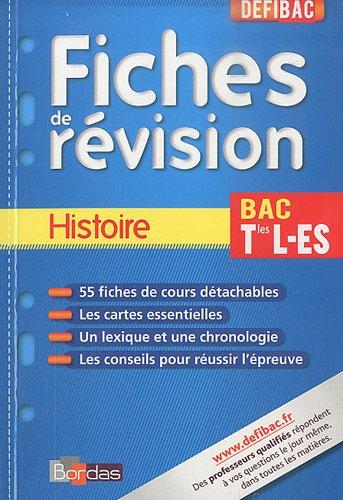 Histoire Tle L-ES : Fiches de révision