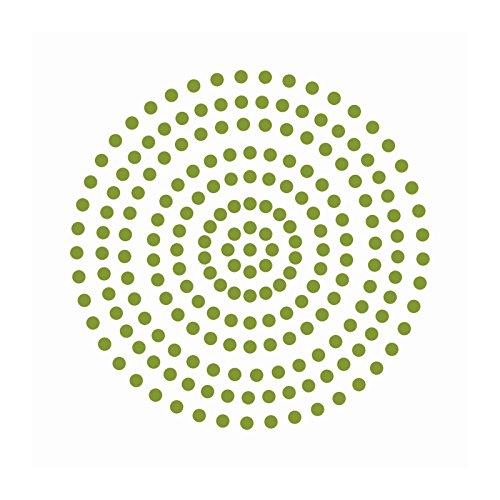Couture Creations Premium selbstklebend Perlen, Gras Grün, 3mm