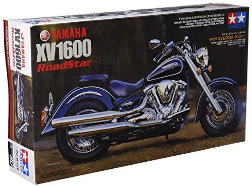 TAMIYA 14080 - 1:12 Yamaha XV1600 Road Star 1999, Modellbau, Plastik Bausatz, Basteln, Hobby, Kleben, Plastikbausatz
