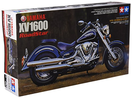 Tamiya - Maqueta de motocicleta escala 1:12 (T2M), color negro/blanco