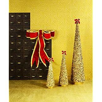 EN-Weihnachts-Baum-Christ-Baum-Tannen-Baum-Coco-Shell-Gold-122cm-Glimmer-Glitzer-Pomps-Extravagant