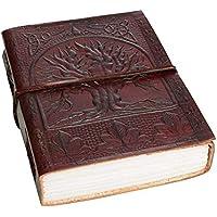 Urbankrafted hecho a mano hermoso árbol de Treasure Leather Journal