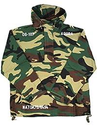 Agora Camo Military Pullover Blouson