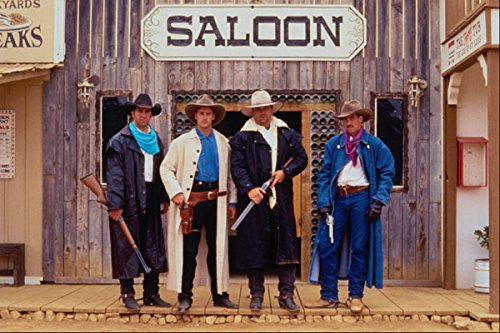 633059 Cowboys In Dusters A4 Photo Poster Print 10x8