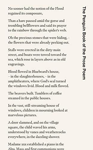 The Penguin Book of the Prose Poem: From Baudelaire to Anne Carson (Penguin Hardback Classics) por Jeremy Noel-Tod