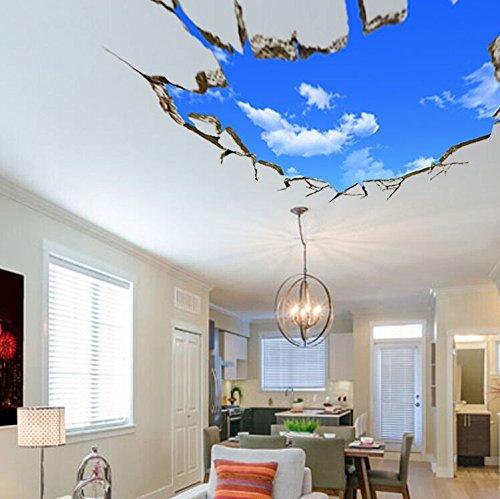 lifeup 3d- adesivi murali grandi camera da letto soggiorno