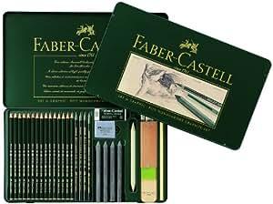 Faber-Castell Pitt Monochrome Graphite Set de 29 crayons