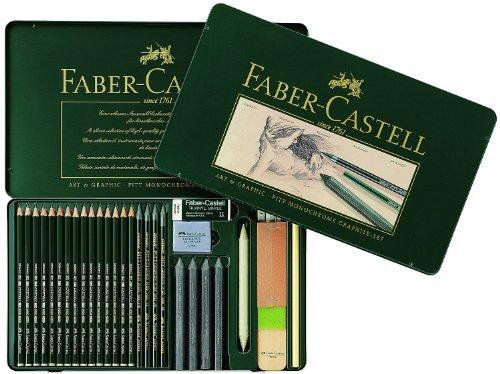 Faber-Castell 112966 - Lápices, caja con 29 unidades