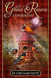 Gilded Reverie Lenormand: Kartendeck mit Anleitungsheft auf Deutsch