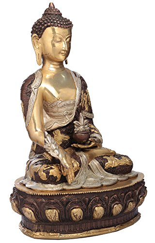 exotic-india-medizin-buddha-messing-statue-2
