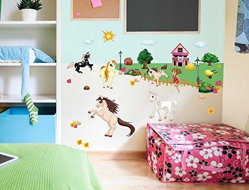 Murales Cameretta Bambini : Acquista carino animali grandi murales bambini asilo camera da