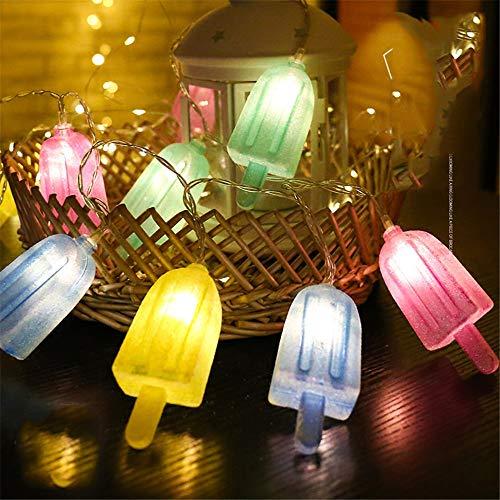 Led Märchen Bunte Eis Batterie Betrieb Licht Girlande Led Dekoration Weihnachtsgirlande Fenster Farbe 3 M 20 Lichter