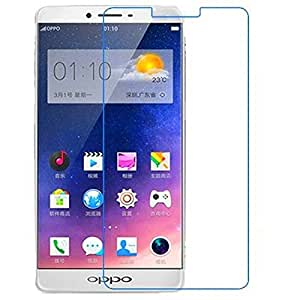 Oppo A30 / Oppo A30 Kavacha™ Premium Series Tempered Glass With Smooth Touch 2.5D Curved Edge 0.3mm thin 9H Hardness: High Quality High Definition Toughened Screen Protector