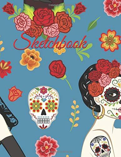 Sketchbook: Día de los Muertos (Halloween Notebooks, Band 1)