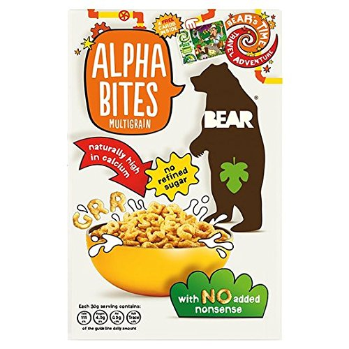 Price comparison product image Bear Alphabites Multigrain 375g
