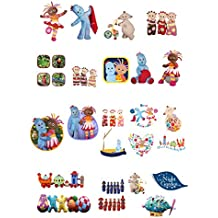 27 Stand Up In The Night Garden Characters Edible Premium Wafer Paper Cake Toppers