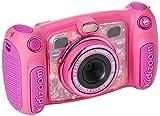VtechKidizoom Duo 5.0Digitale Kamera für Kinder, 5MP, Farbdisplay, 2Objektive, Pink Englische Version Rosa