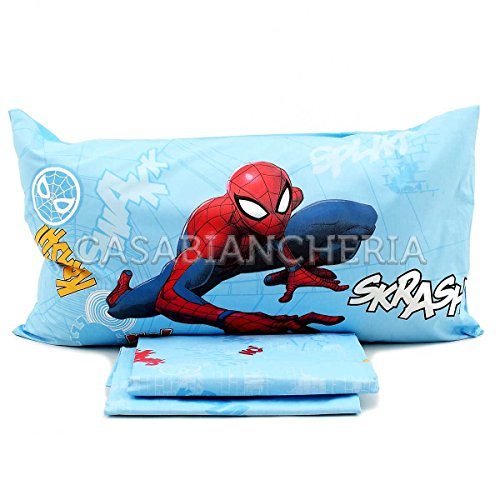 Caleffi Completo sábanas Plaza Spider-Man Wall Marvell-mis