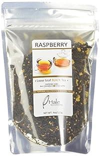 Hale Tea Black Tea, Raspberry, 4-Ounce