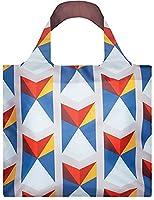 LOQI Geometric Triangles Reusable Shopping Bag