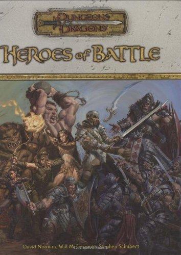 Heroes of Battle: Dungeons & Dragons Supplement: The Battlefield Handbook (D&D Supplement) -