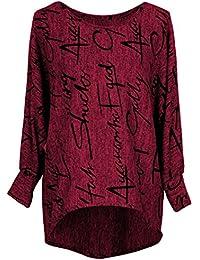 """Emma & Giovanni - Haut / Tshirt Oversize imprmé """"lettre"""" - Femme"""