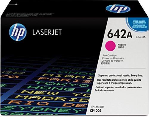 Preisvergleich Produktbild HP 642A (CB403A) Rot Original Toner für HP Color Laserjet CP4005
