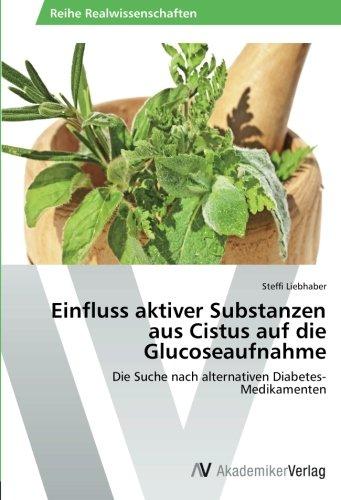 Einfluss aktiver Substanzen aus Cistus auf die Glucoseaufnahme: Die Suche nach alternativen Diabetes-Medikamenten