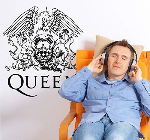 Pegatina pared pegatina pared frases Queen Platinum