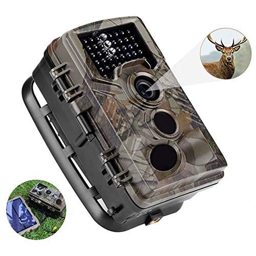 J.KM Jagdkamera, 16MP 1080P, 32G-Speicherkarte, HD-Wildlife-Trail-Wildkamera, 120 ° Weitwinkel-Nachtsicht, 0,2s Triggergeschwindigkeit, 65 Fuß Triggerdistanz