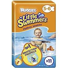 HUGGIES Little Swimmers Talla 5/6, 2unidades (2x 11Pañales)